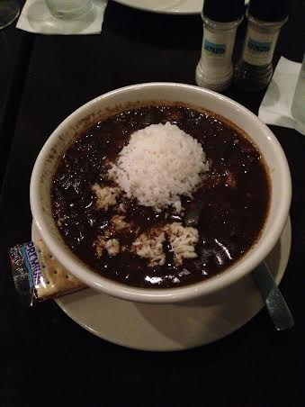 Seafood Gumbo with Shrimp, Oysters and Crabmeat